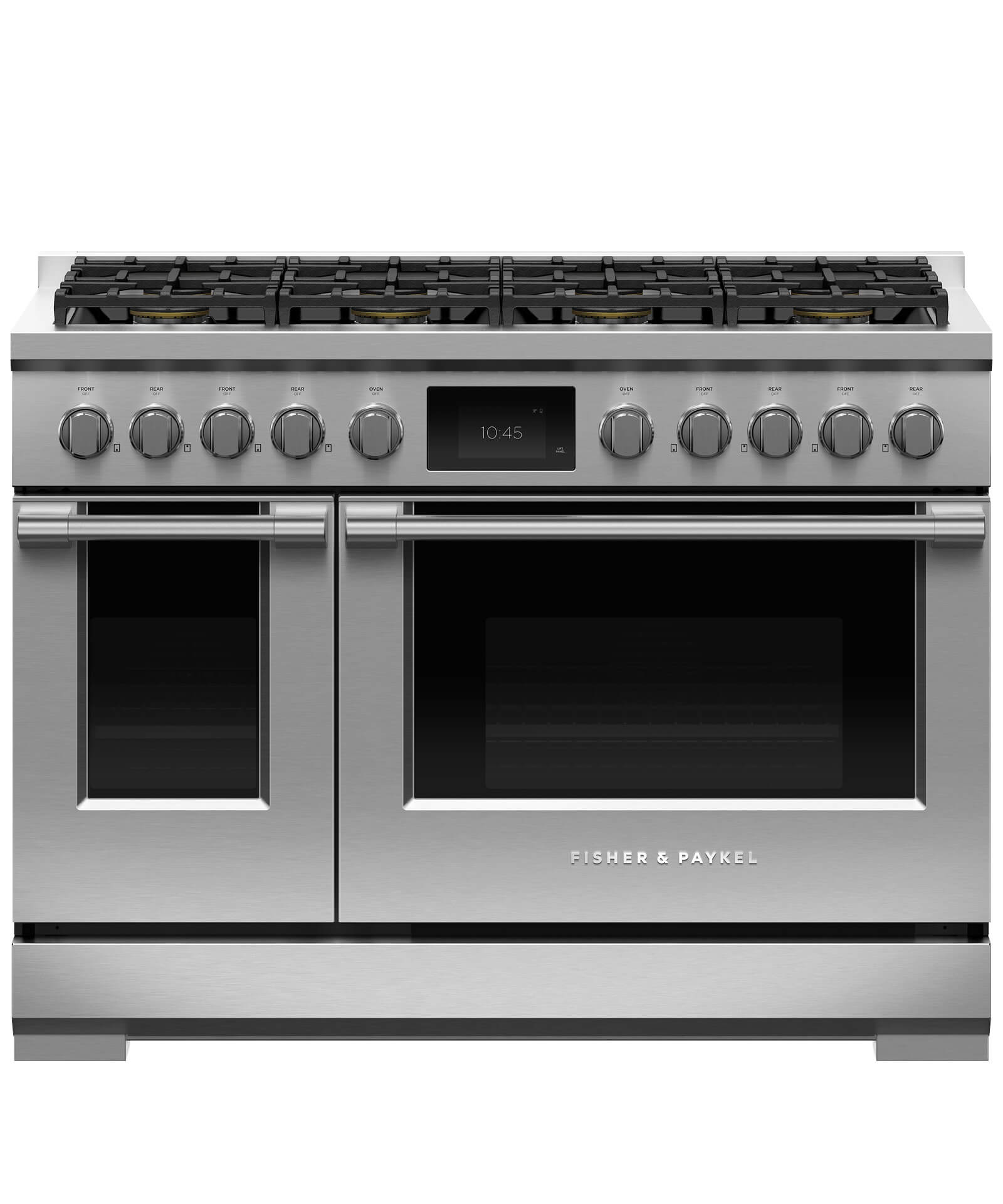 "Fisher and Paykel Dual Fuel Range, 48"", 8 Burners"