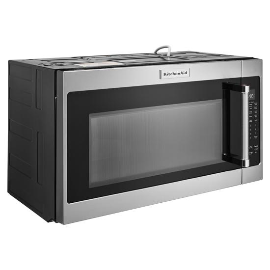 "Model: KMHS120KPS | KitchenAid 30"" 1000-Watt Microwave Hood Combination"
