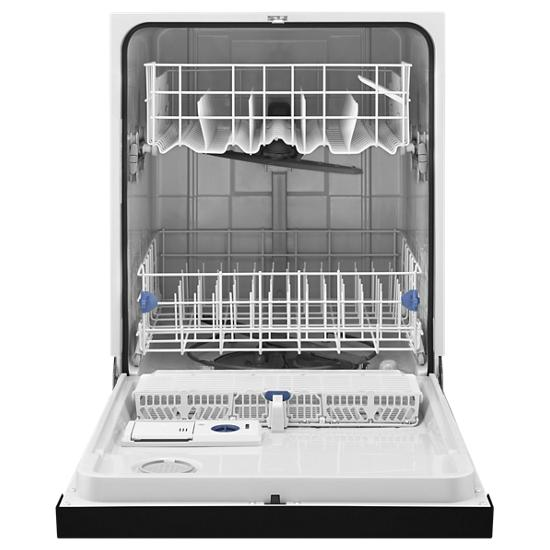 Model: WDF520PADB | Whirlpool ENERGY STAR® certified dishwasher with 1-Hour Wash cycle