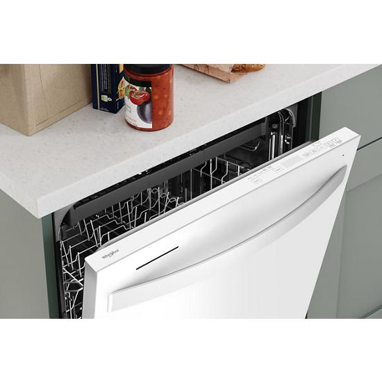 Model: WDT750SAKW | Whirlpool Large Capacity Dishwasher with 3rd Rack