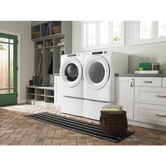 "Model: WFP2715HW | Whirlpool 15.5"" Pedestal for Front Load Washer and Dryer with Storage"