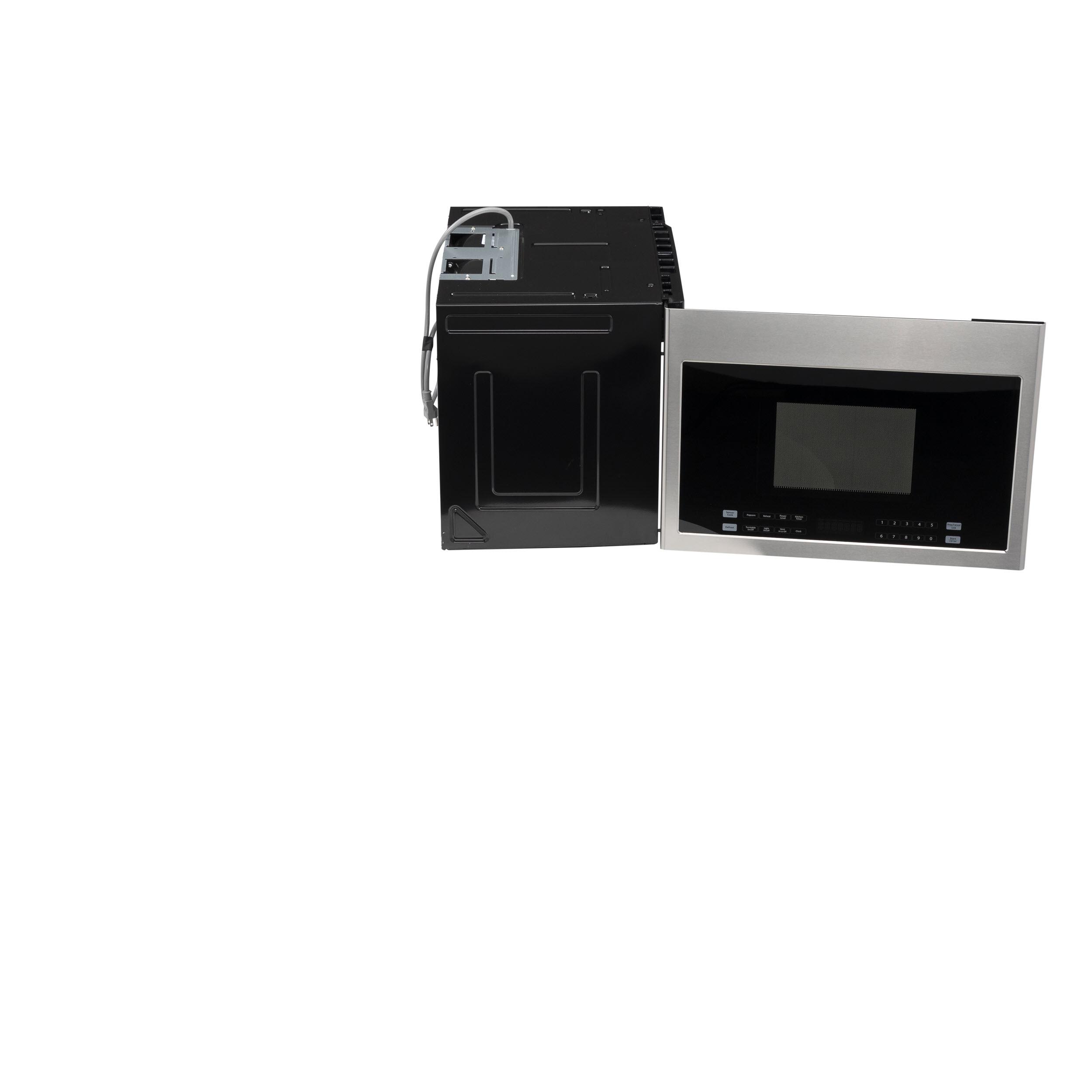 "Model: HMV1472BHS | Haier 24"" 1.4 Cu. Ft. Over-The-Range Microwave Oven"