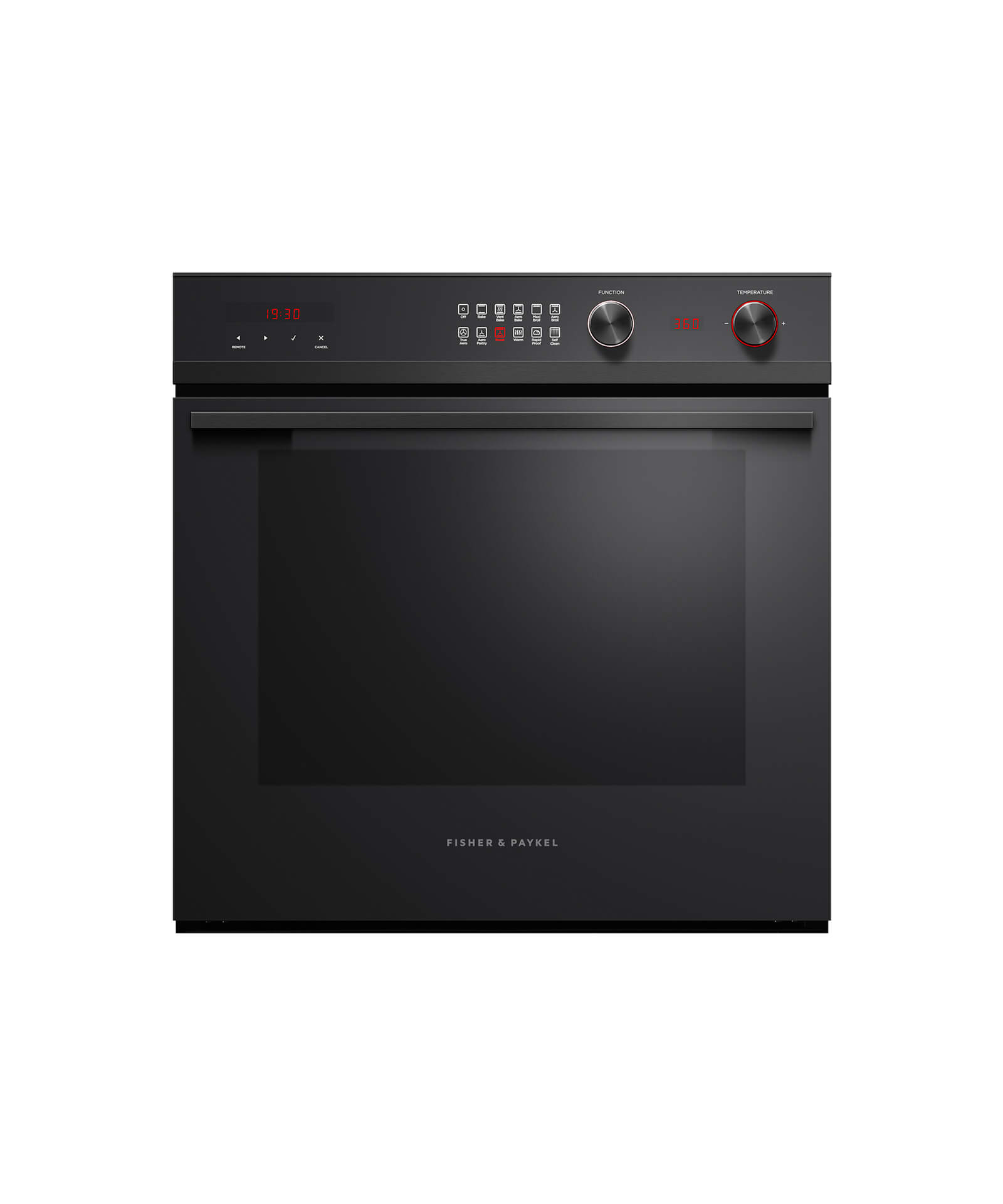 "Model: OB24SCD11PB1 | Fisher and Paykel Built-in Oven, 24"", 3 cu ft, 11 Function, Self-cleaning"