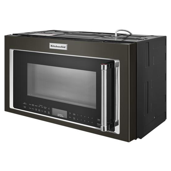 "Model: KMHC319EBS | KitchenAid 30"" 1000-Watt Microwave Hood Combination with Convection Cooking"