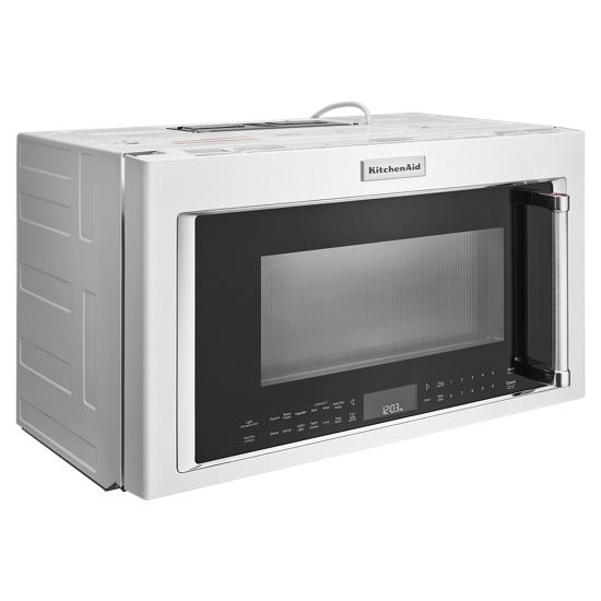 "Model: KMHC319EWH | KitchenAid 30"" 1000-Watt Microwave Hood Combination with Convection Cooking"
