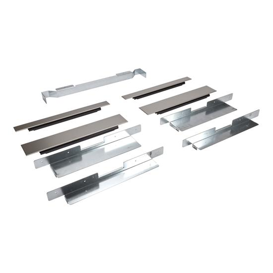 Unbranded Built-In Oven Side Trim Kit, Stainless Steel