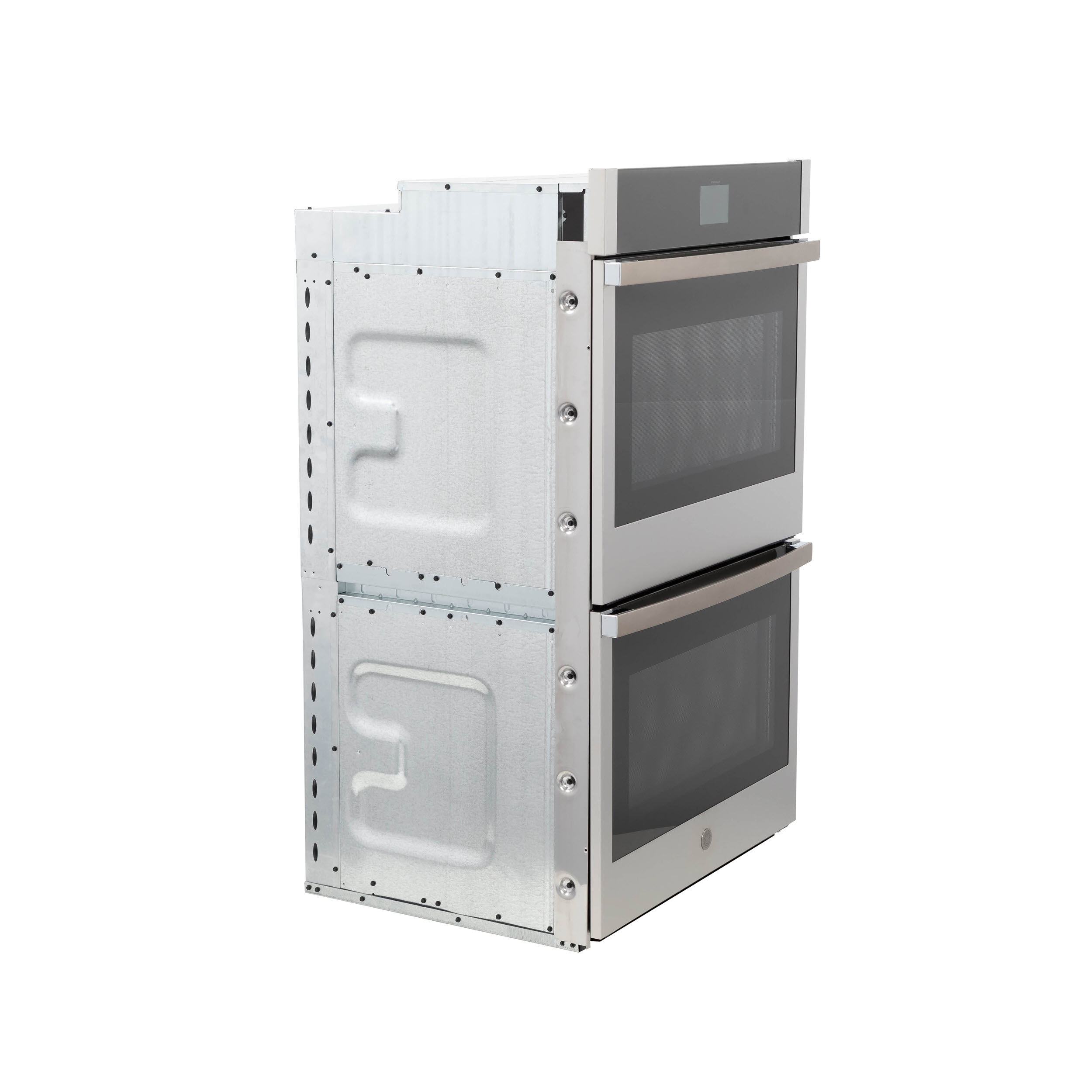 """Model: JTD5000SNSS   GE GE® 30"""" Smart Built-In Self-Clean Convection Double Wall Oven with Never Scrub Racks"""