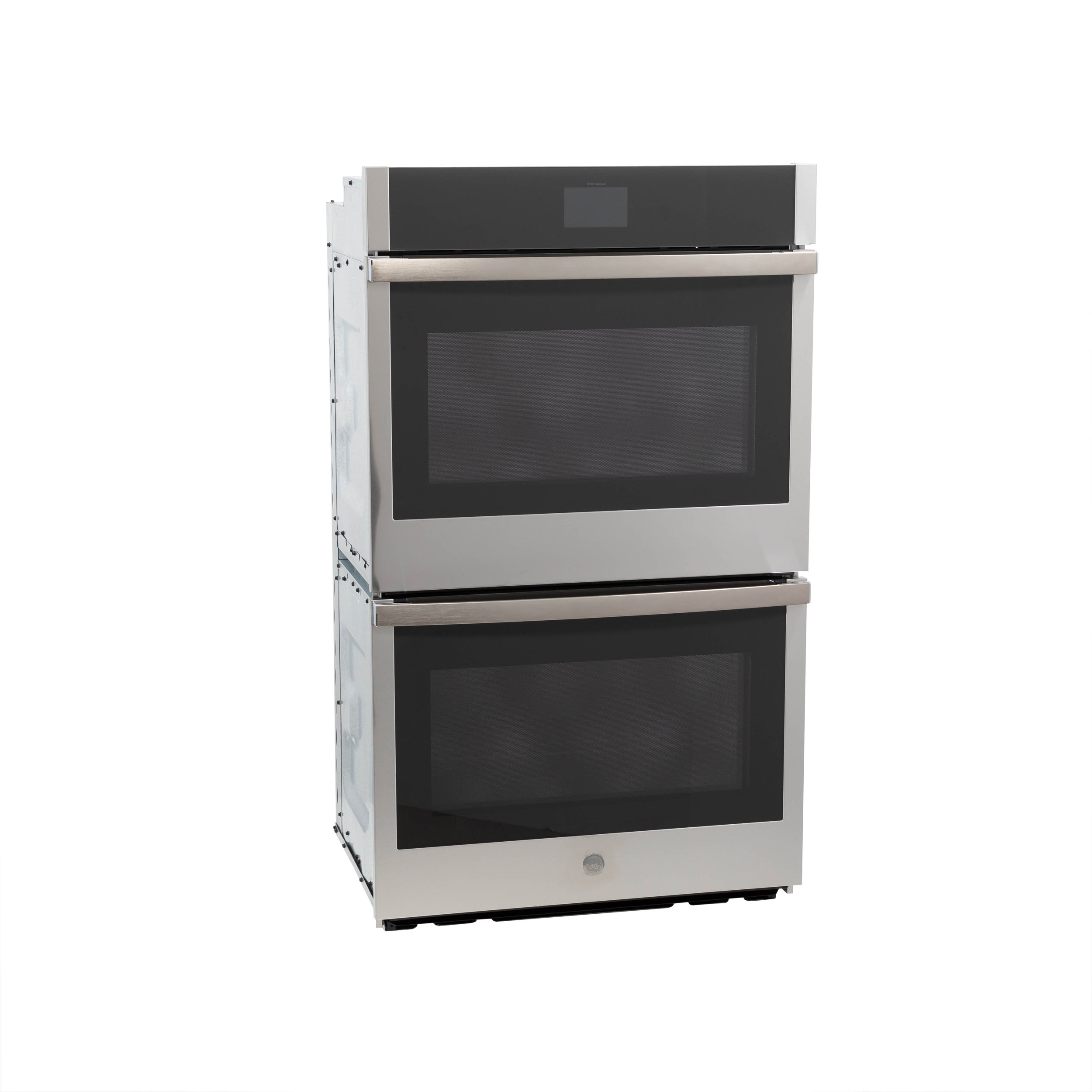 "Model: JTD5000SNSS | GE GE® 30"" Smart Built-In Self-Clean Convection Double Wall Oven with Never Scrub Racks"