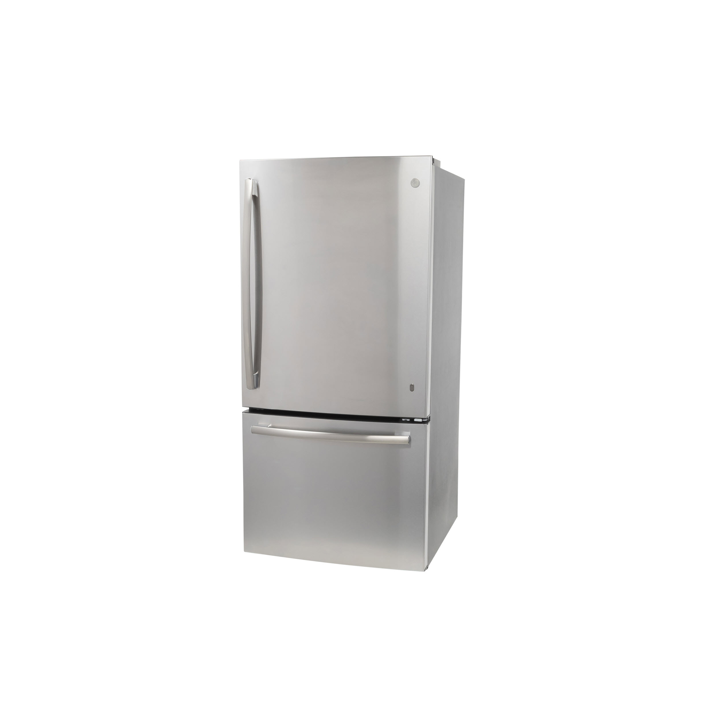 Model: GDE25ESKSS | GE GE® ENERGY STAR® 24.8 Cu. Ft. Bottom-Freezer Drawer Refrigerator