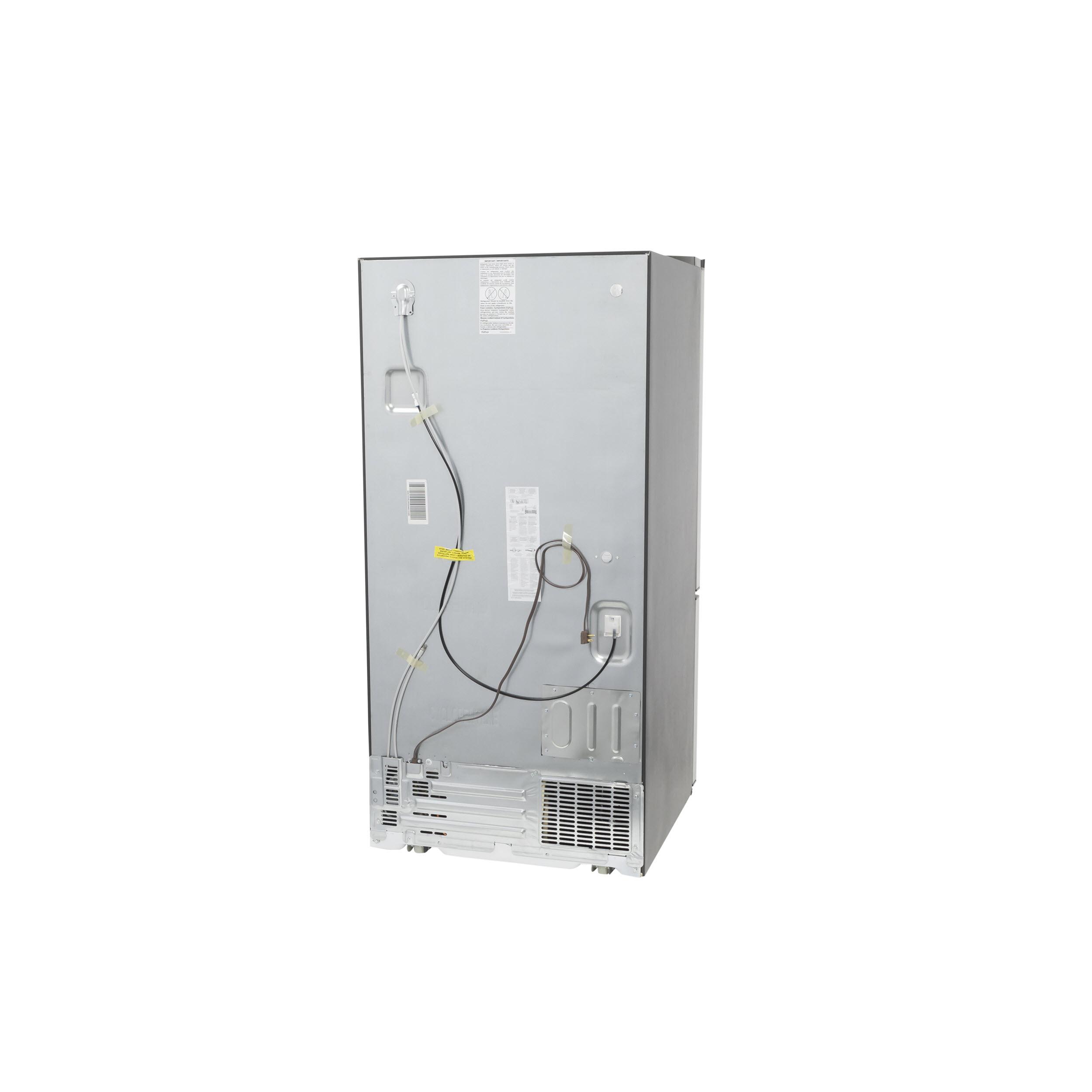 Model: GDE25ESKSS | GE GE® ENERGY STAR® 24.8 Cu. Ft. Bottom-Freezer Drawer Refrigerator