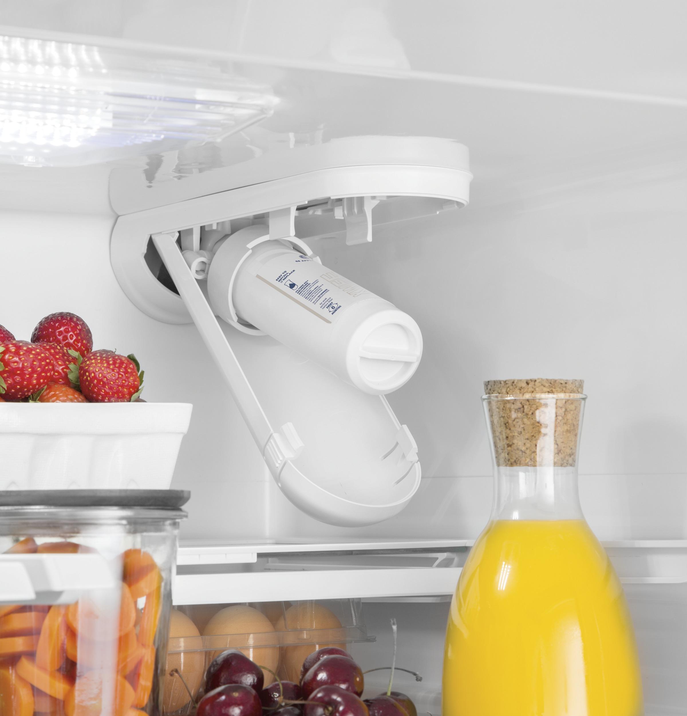 Model: GWE19JMLES   GE GE® ENERGY STAR® 18.6 Cu. Ft. Counter-Depth French-Door Refrigerator