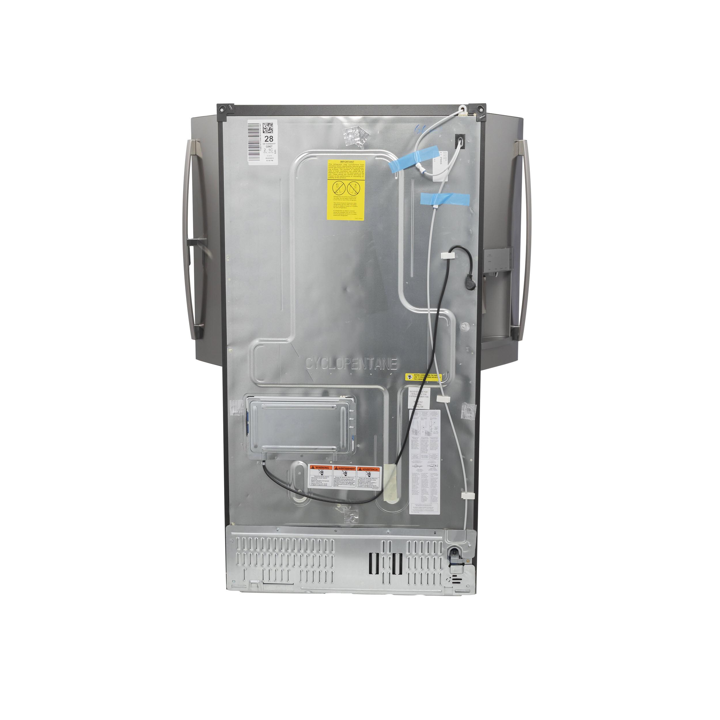 Model: GFD28GYNFS   GE GE® 27.7 Cu. Ft. Fingerprint Resistant French-Door Refrigerator with Door In Door