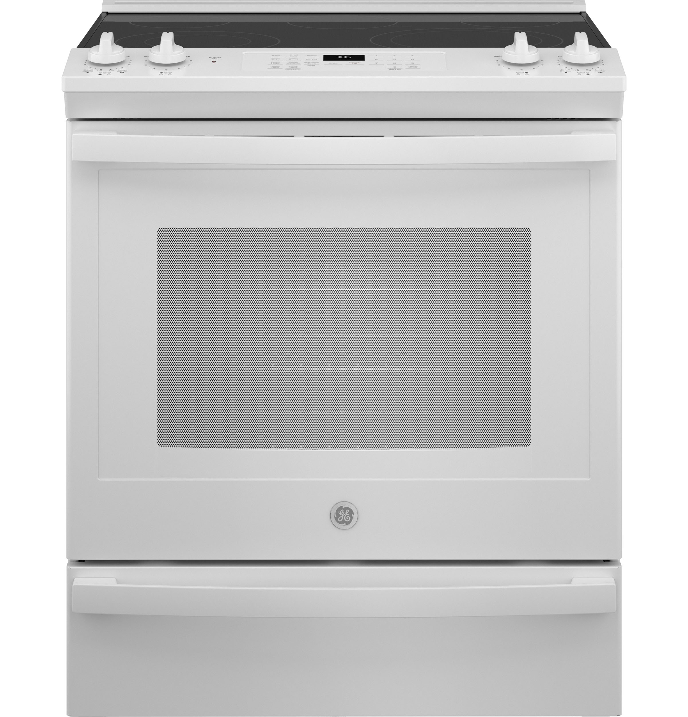 """GE GE® 30"""" Slide-In Electric Convection Range with No Preheat Air Fry"""