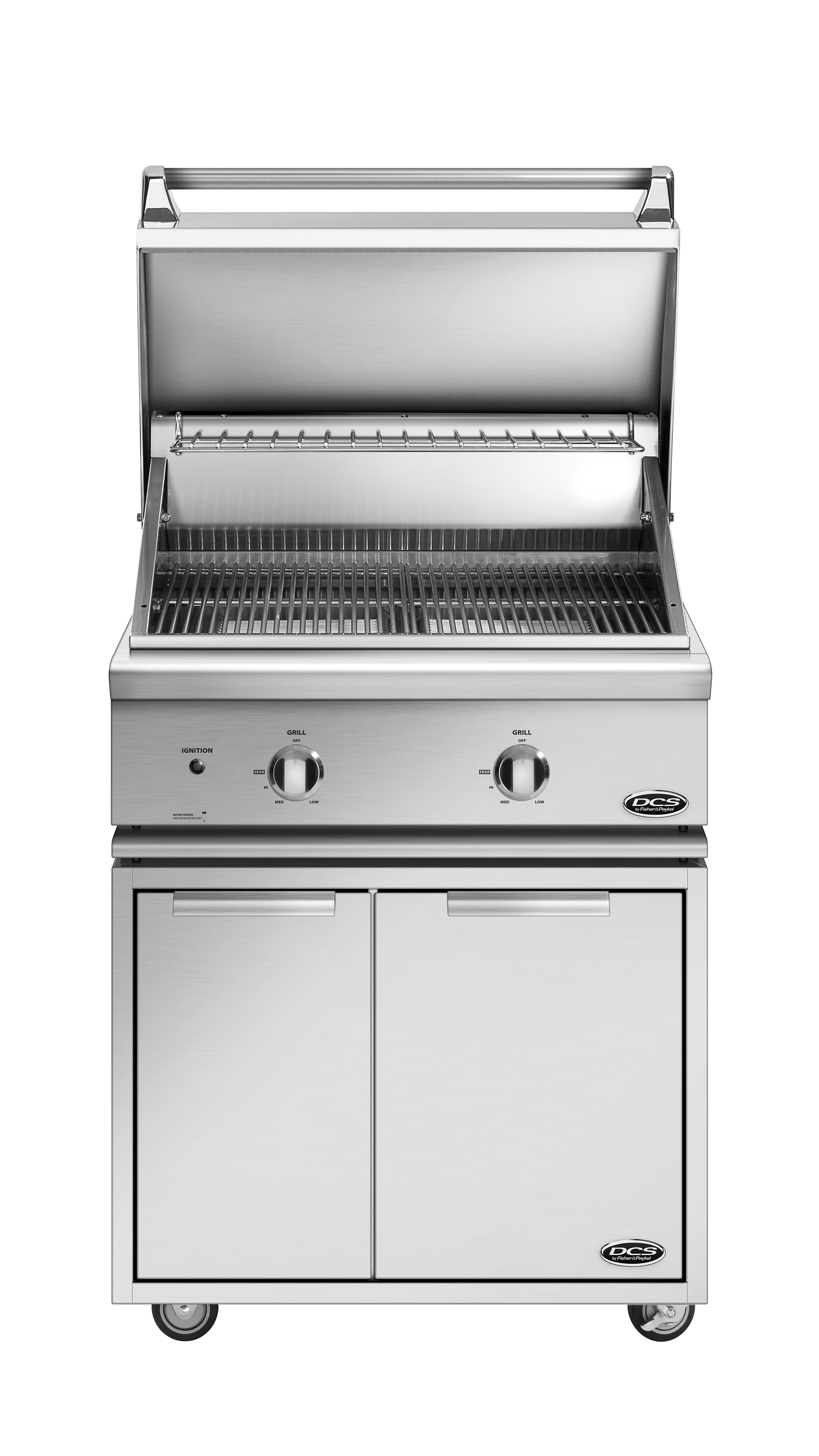 "Model: BGC30-BQ-N | DCS 30"" Series 7 Grill, Non Rotis, Natural Gas"