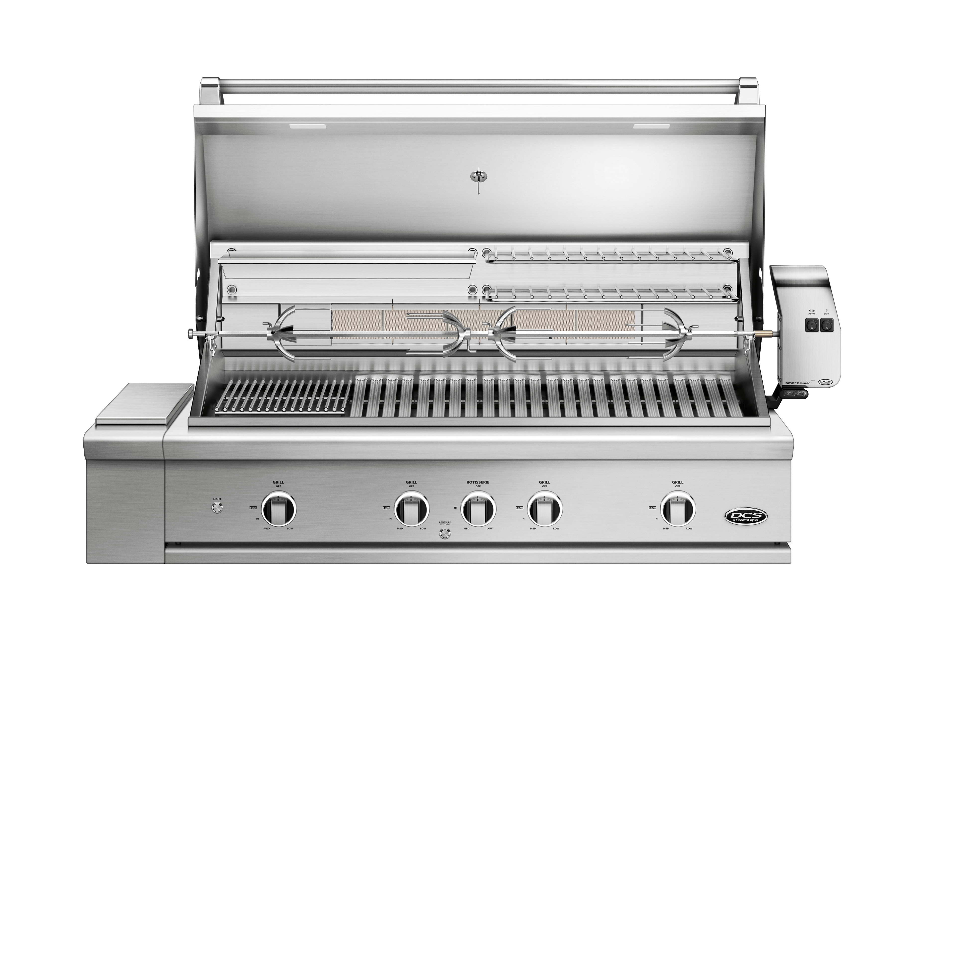 "Model: BE1-48RC-N | DCS 48"" Grill, Rotisserie and Charcoal"
