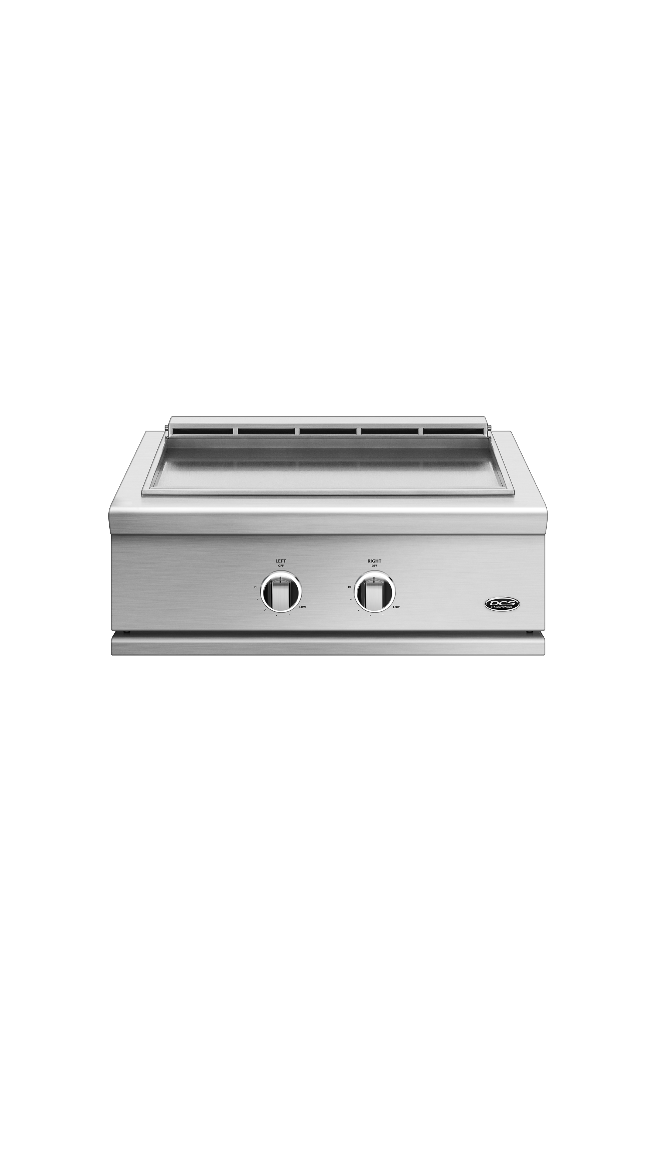 "Model: GDE1-30-N | DCS 30"", Series 9, Griddle, Natural Gas"