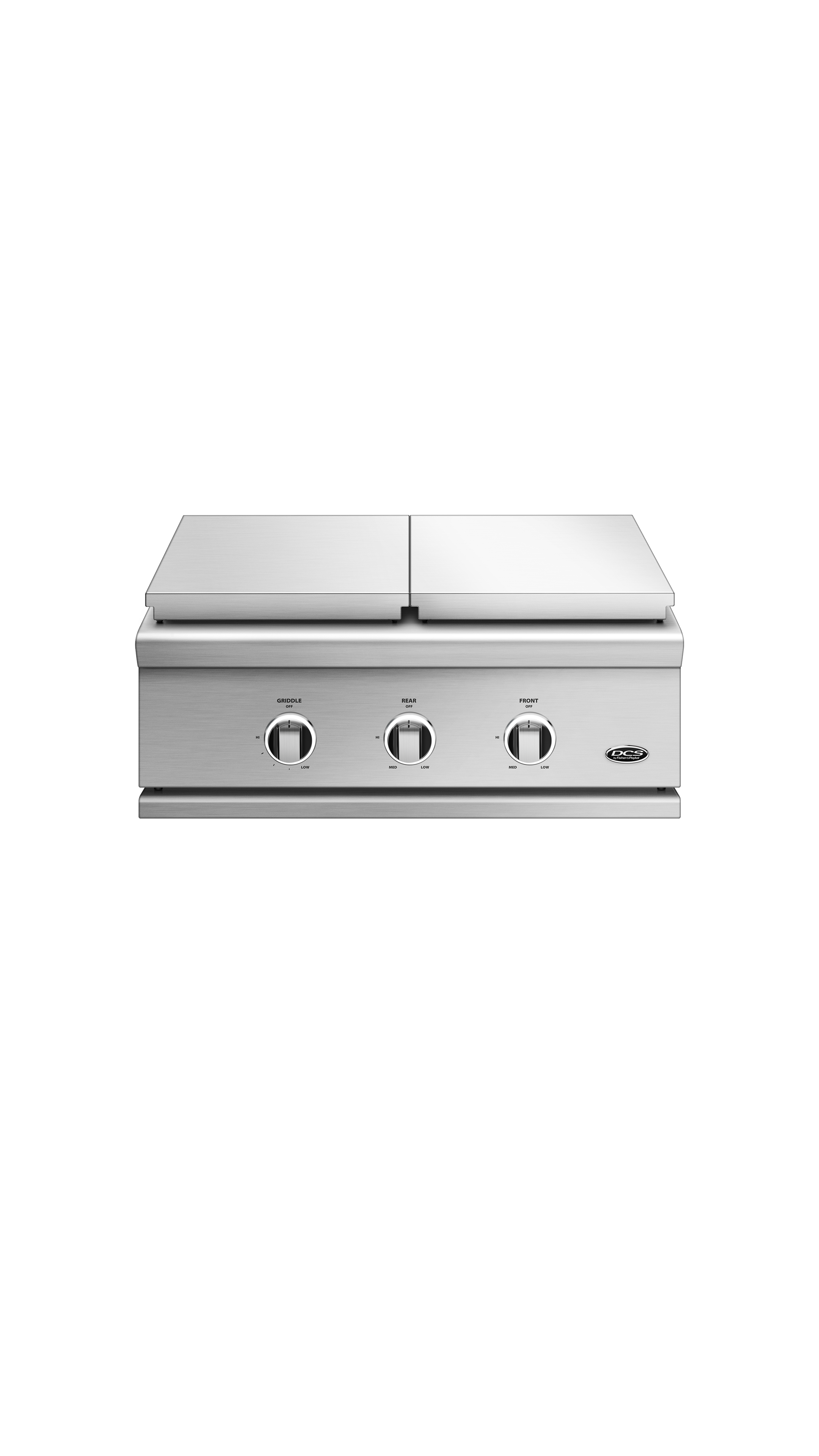 "Model: GDSBE1-302-L | DCS 30"", Series 9, Griddle/Side Burner, LP Gas"
