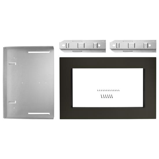 Unbranded 30 in. Microwave Trim Kit  for 1.6 cu. ft. Countertop Microwave Oven