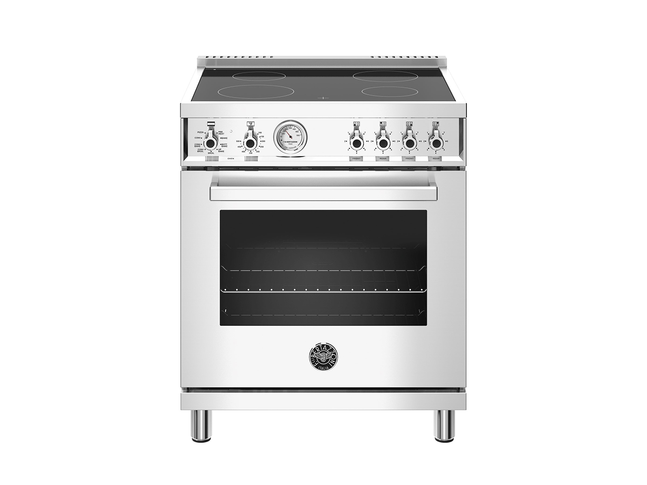 "Bertazzoni 30"" Professional Series range - Electric range - 4  zones"