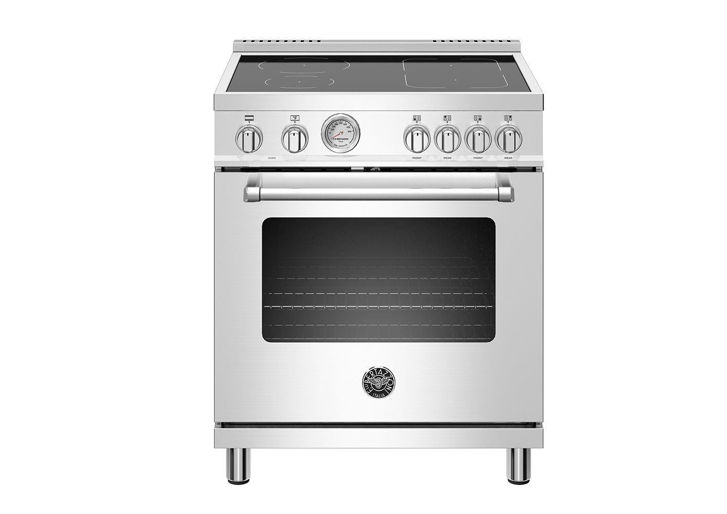 "Model: MAST304INMXE | Bertazzoni 30"" Master Series range - Electric oven - 4 induction zones"