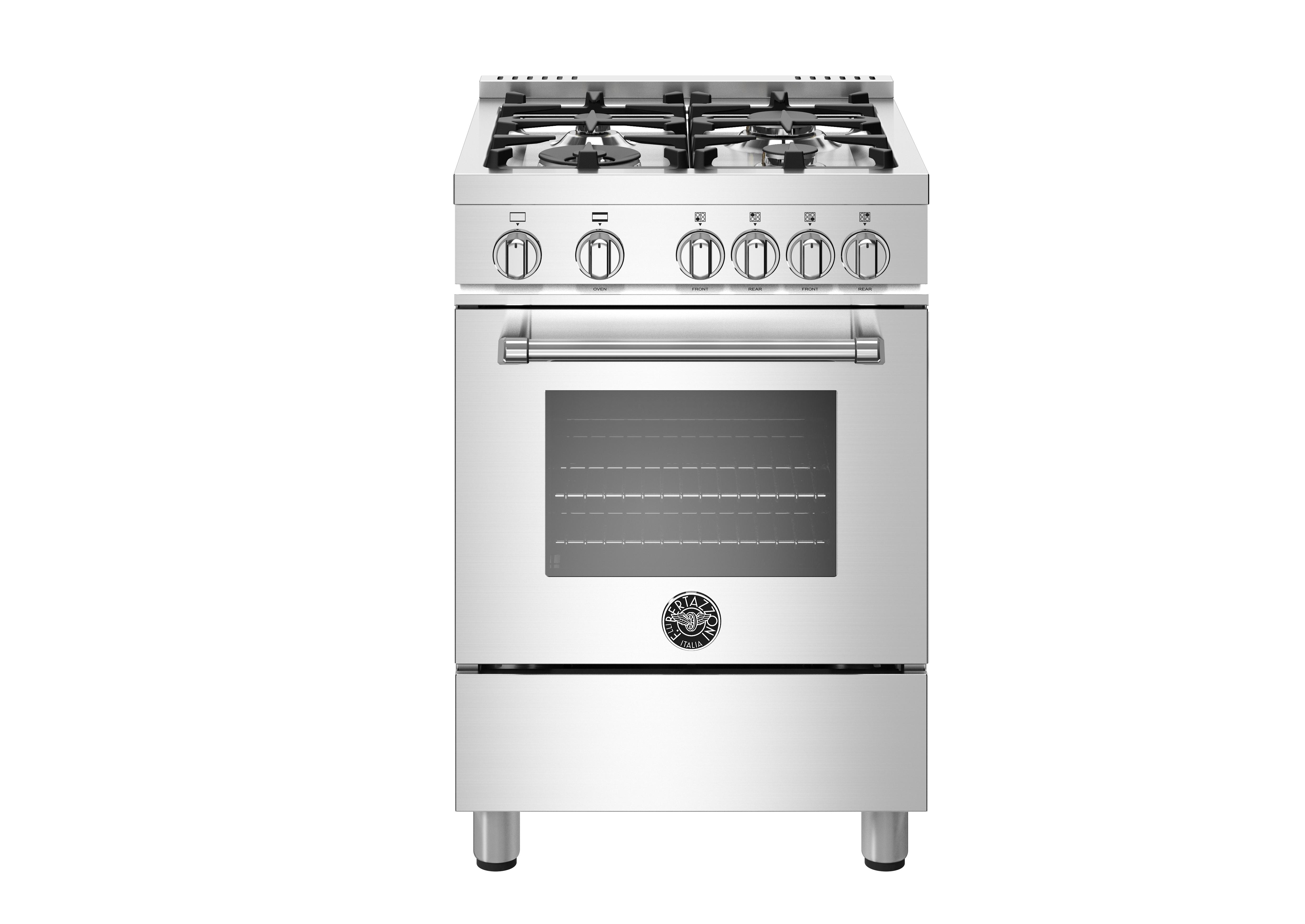 "Model: MAST244GASXE | Bertazzoni 24"" Master Series Gas Oven Range"