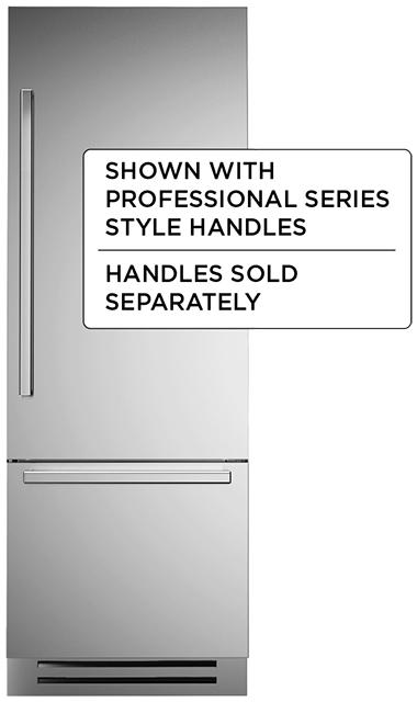 "Model: REF30PIXR   Bertazzoni 30"" Built-in refrigerator - Stainless - Right swing door"