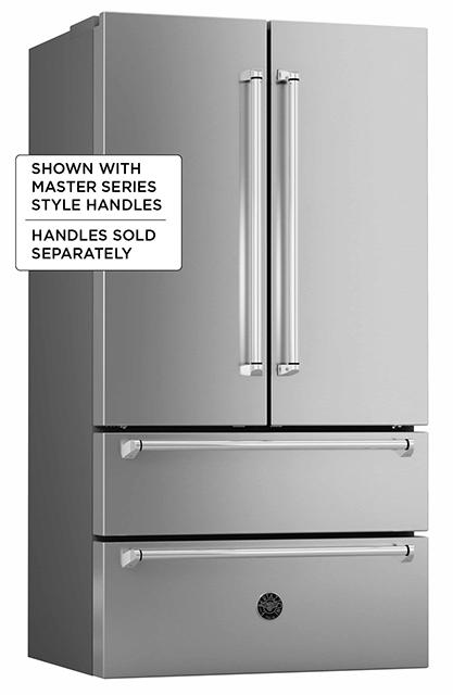 "Model: REF36X | Bertazzoni 36"" French door refrigerator - Freestanding - Stainless"