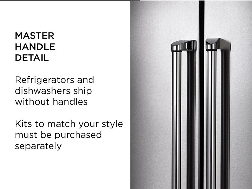 "Model: DW18PR | Bertazzoni 18"" Dishwasher panel ready"