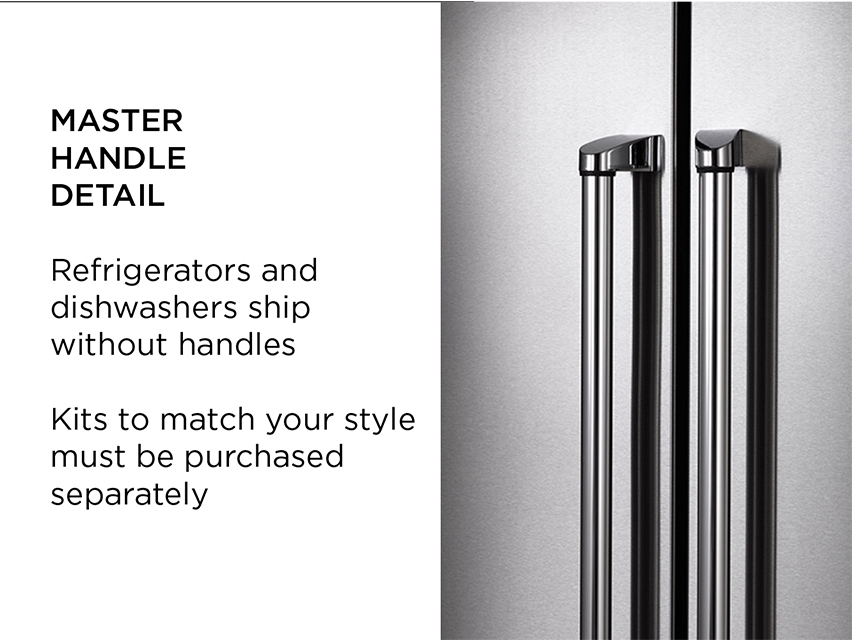 "Model: DW24XT | Bertazzoni 24"" Dishwasher stainless steel panel"