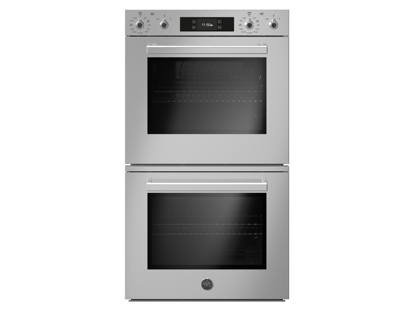 "Bertazzoni 30"" Double Convection Oven Top Version"
