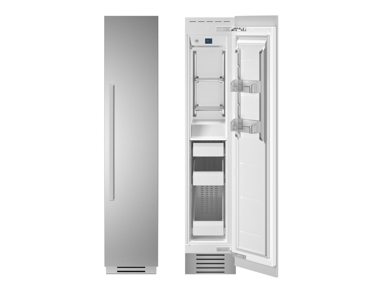 "Bertazzoni 18"" Built-in Freezer column - Stainless - Right hinge"