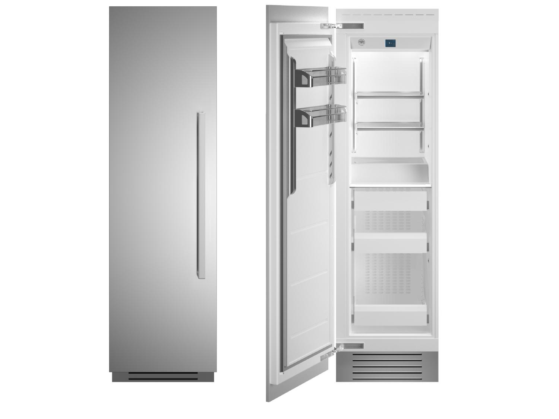 "Bertazzoni 24"" Built-in Freezer column - Stainless - Left hinge"