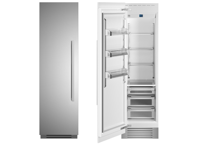 "Bertazzoni 24"" Built-in Refrigerator column - Stainless - Left hinge"