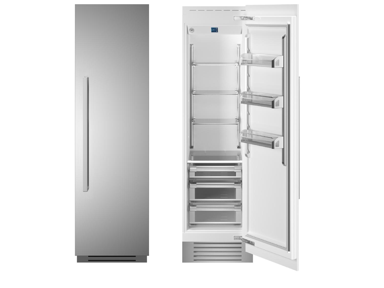 "Bertazzoni 24"" Built-in Refrigerator column - Stainless - Right hinge"