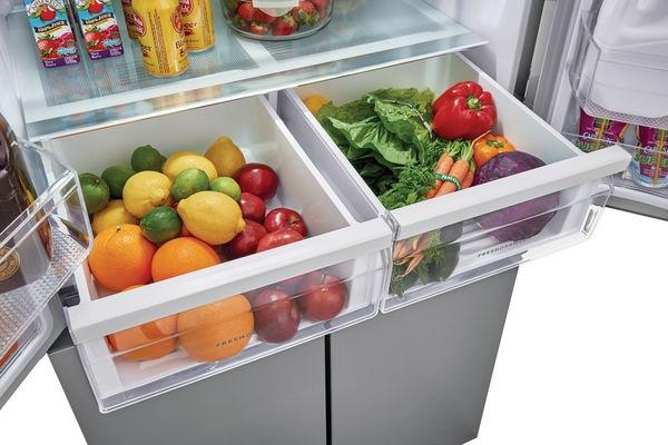 Model: FFBN1721TV | Frigidaire 17.4 Cu. Ft. 4 Door Refrigerator