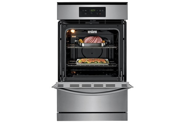 "Model: FFGW2426UB | Frigidaire 24"" Single Gas Wall Oven"