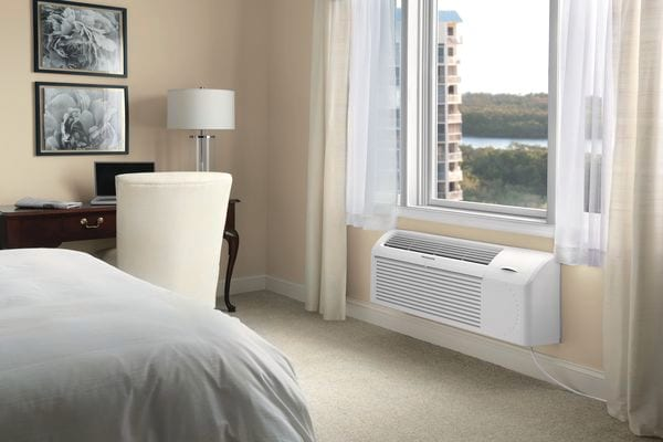 Model: FFRP122LT3 | Frigidaire PTAC unit with Electric Heat 12,000 BTU 208/230V with Corrosion Guard and Dry Mode