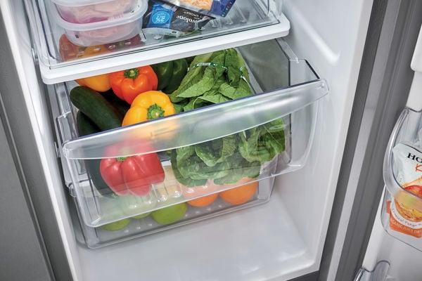 Model: FFSS2315TD   Frigidaire 22.1 Cu. Ft. Side-by-Side Refrigerator