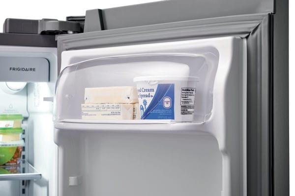 Model: FFSS2615TD   Frigidaire 25.5 Cu. Ft. Side-by-Side Refrigerator
