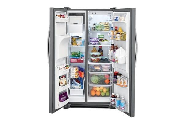 Model: FFSS2615TS | Frigidaire 25.5 Cu. Ft. Side-by-Side Refrigerator