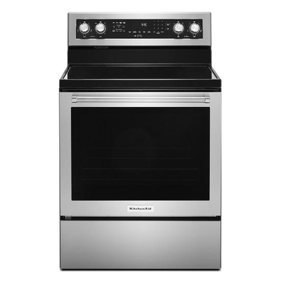 30-Inch 5 Element Electric Convection Range with PrintShield™ Finish