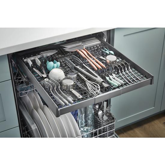 Model: WDT750SAKV | Whirlpool Large Capacity Dishwasher with 3rd Rack