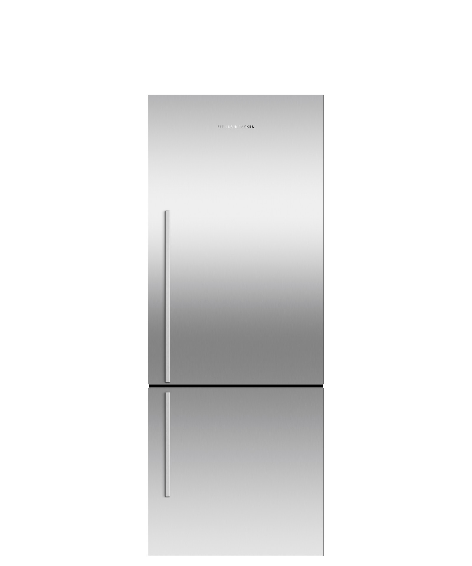 "Fisher and Paykel Freestanding Refrigerator Freezer, 25"", 13.5 cu ft, Ice only"
