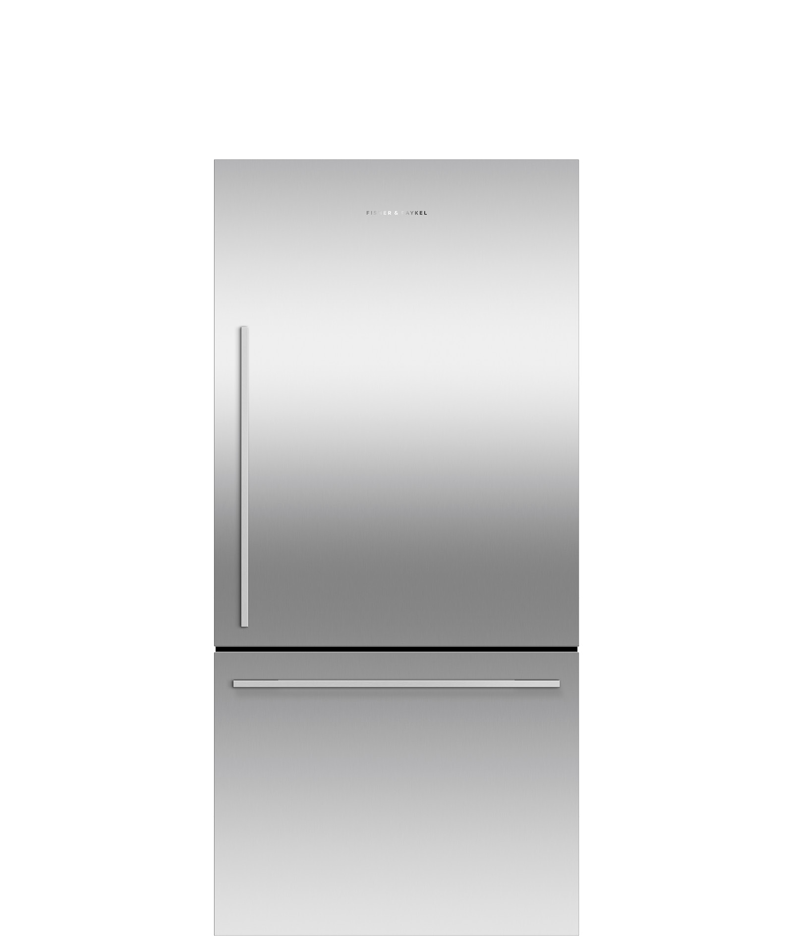"Fisher and Paykel Freestanding Refrigerator Freezer, 31 3/32"", 17.1 cu ft, Ice only"