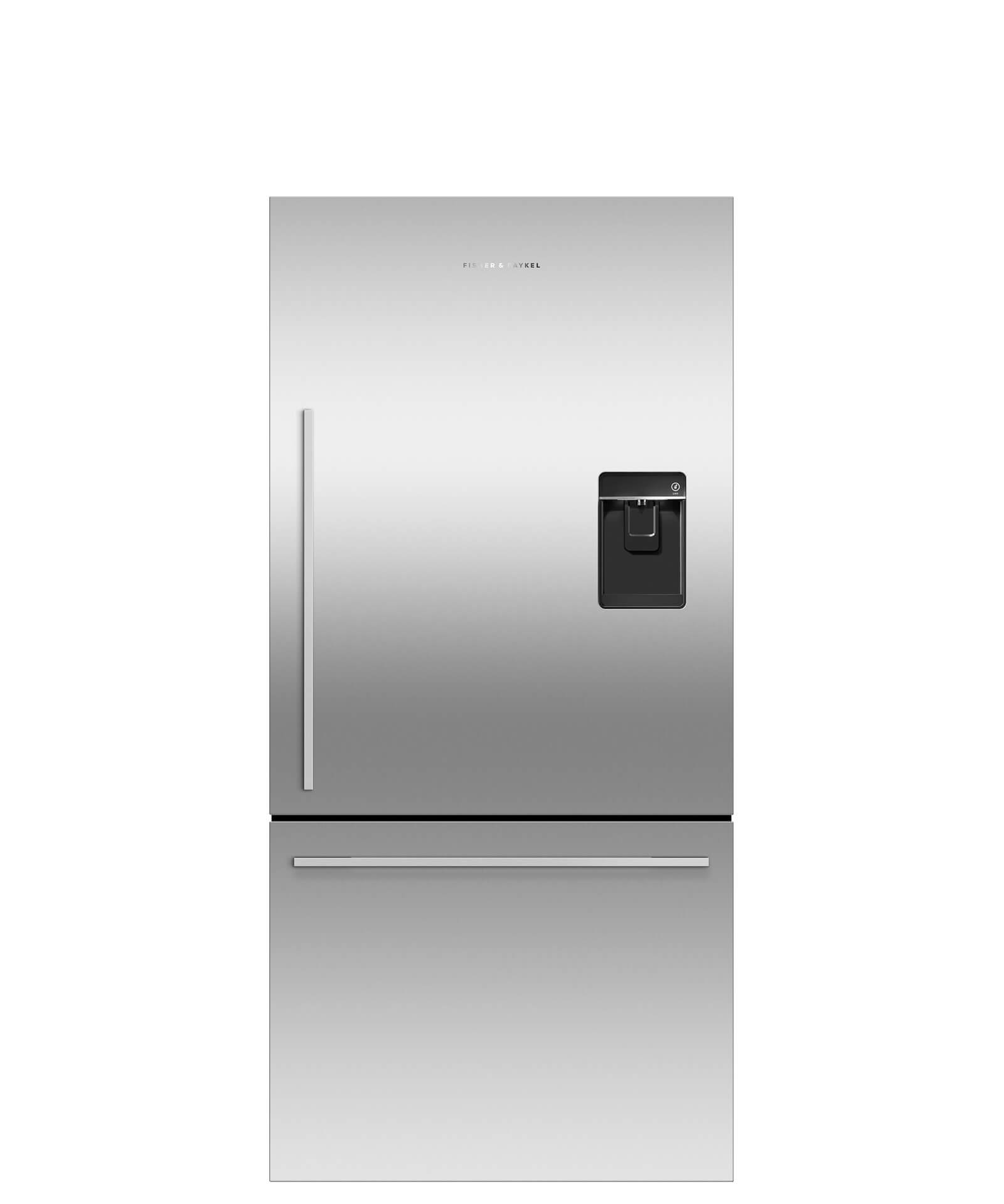 Fisher and Paykel Counter Depth Refrigerator 17 cu ft, Ice & Water