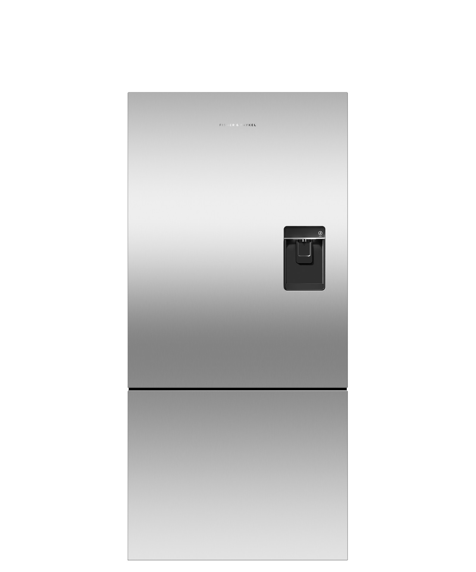 Fisher and Paykel Counter Depth Refrigerator 17.5 cu ft, Ice & Water