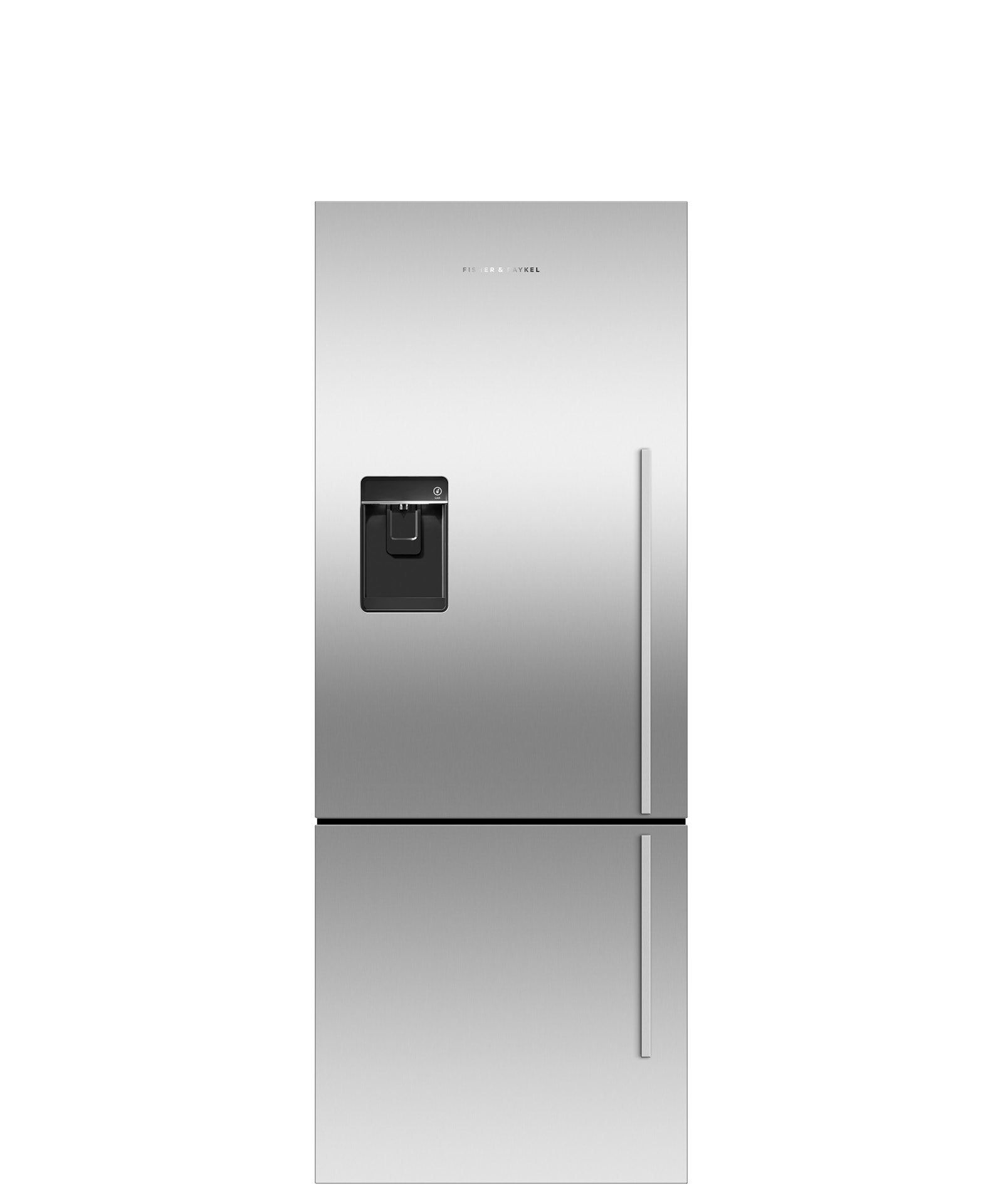 Fisher and Paykel Counter Depth Refrigerator 13.5 cu ft, Ice & Water