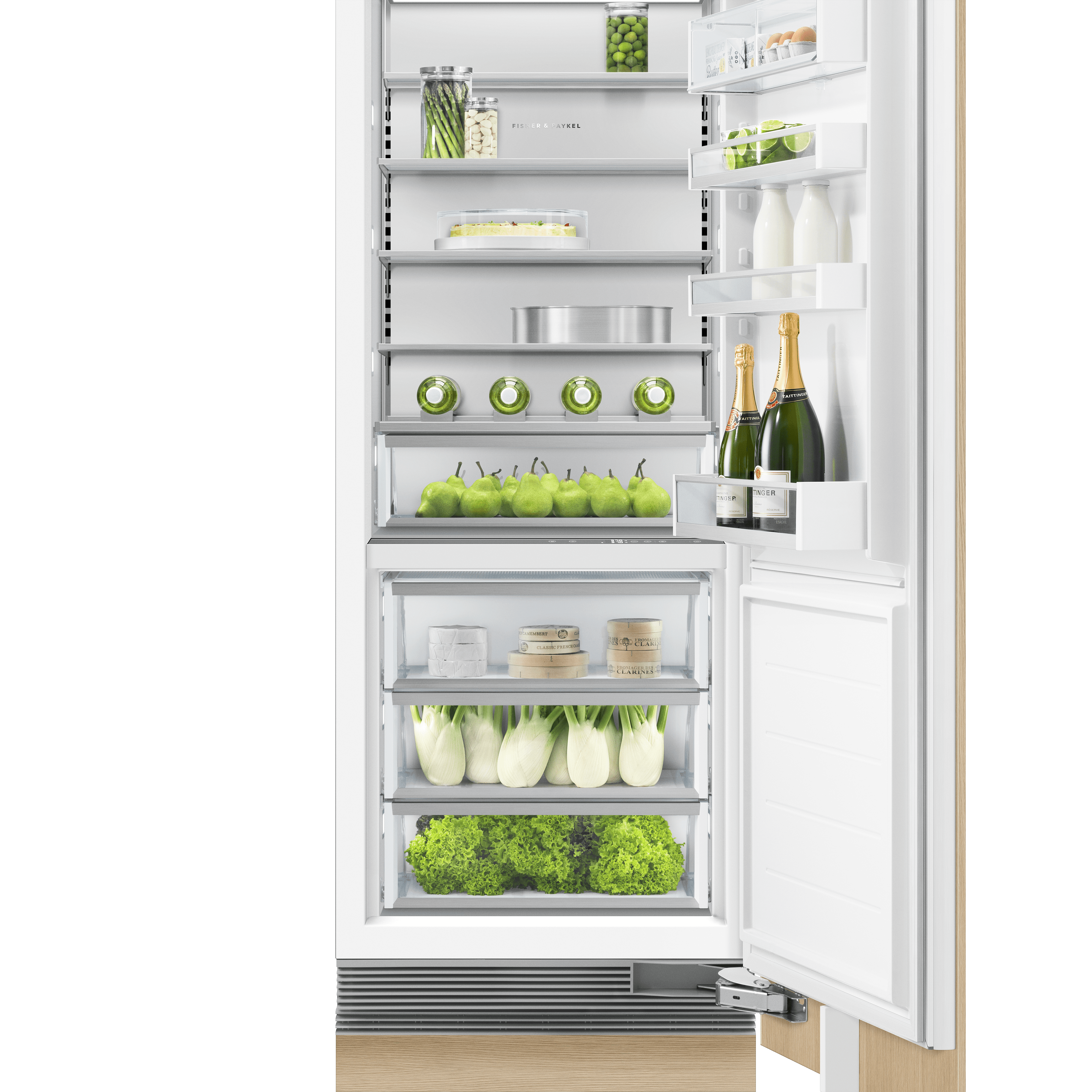 Model: RS3084SR1 | Fisher and Paykel Integrated Column Refrigerator 30""