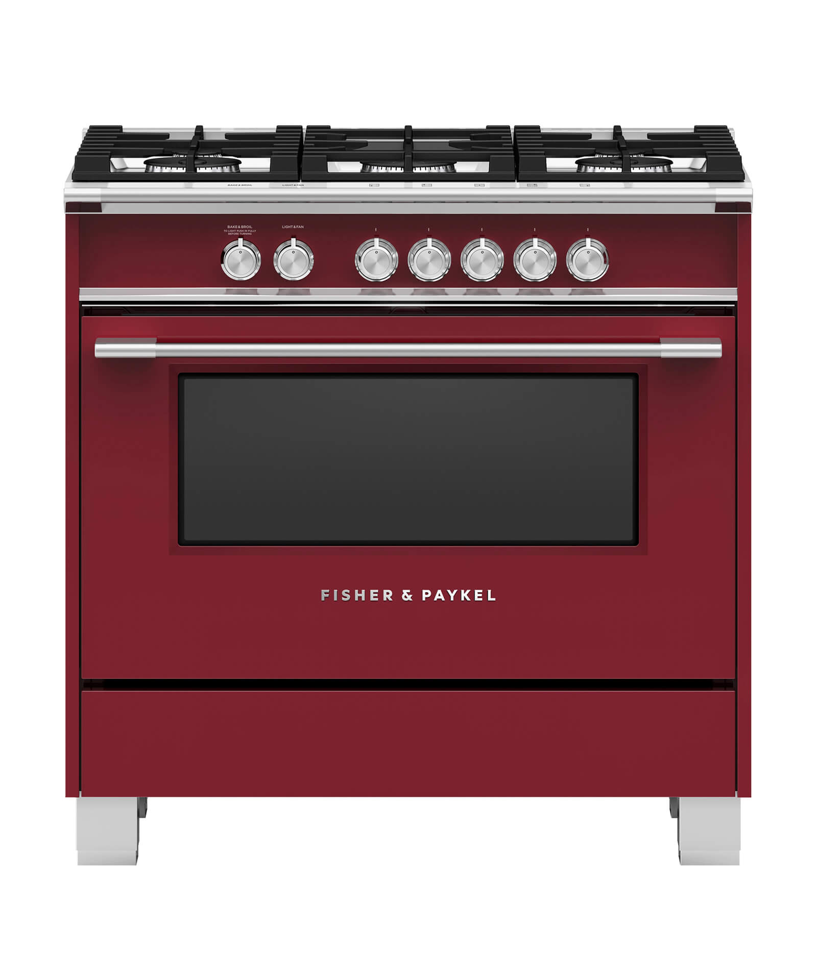 Fisher and Paykel Gas Range, 36""