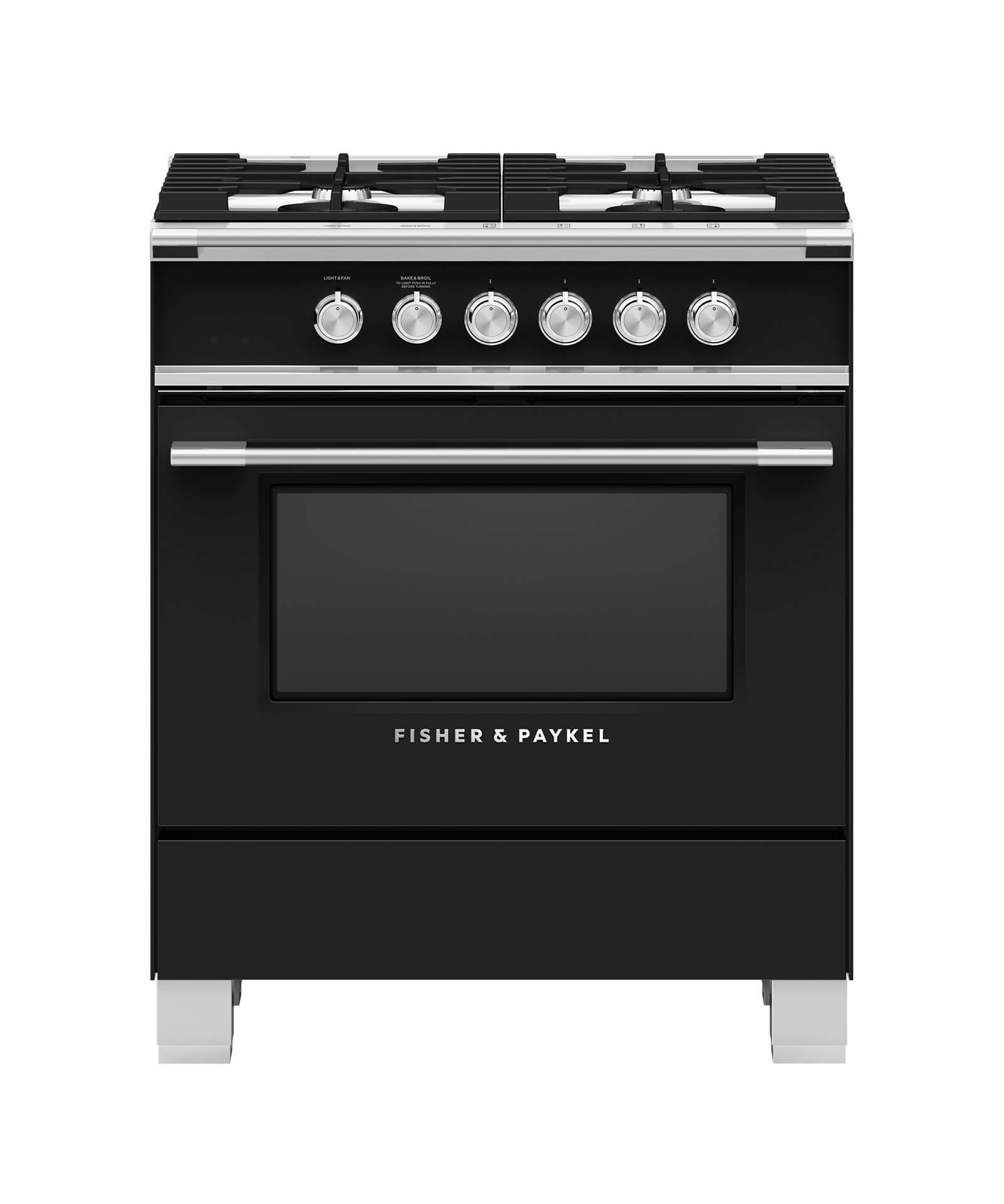 Fisher and Paykel Gas Range 30""